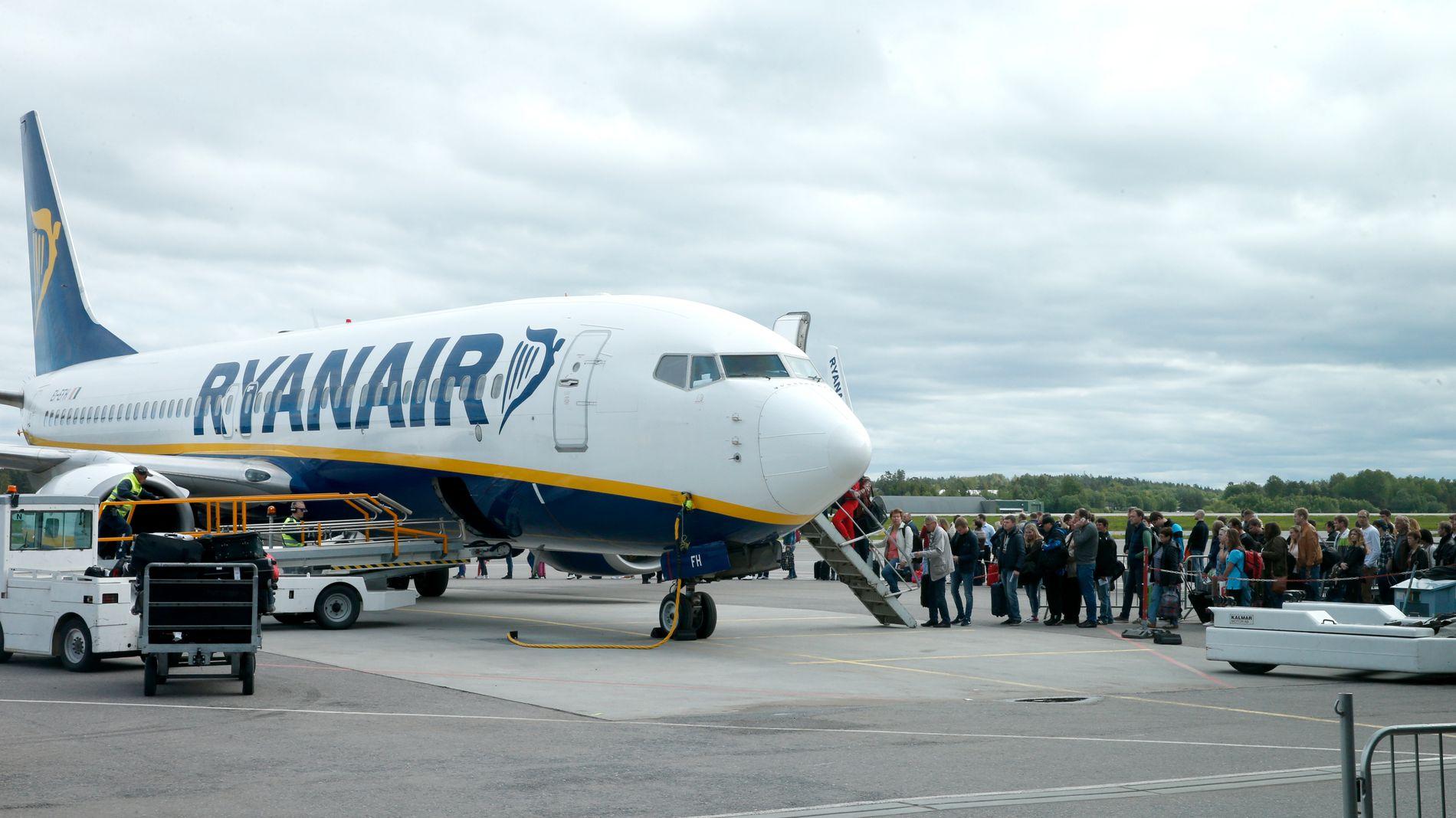 Ryanair-ansatte i streik i slutten av juli