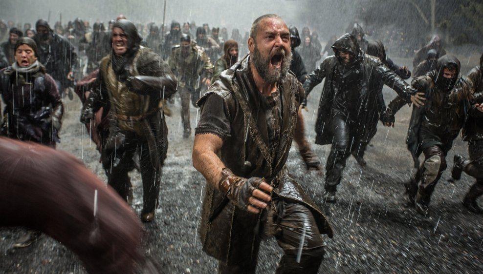 BEGRENSET TILGANG: Åtte byer går glipp av «Noah», med Russell Crowe. Foto: UIP