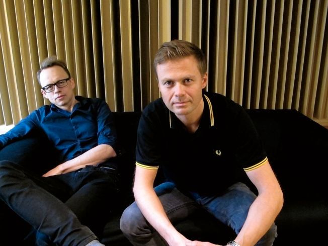 SUKSESSDUO: Simen Eriksrud (t.v.) og Espen Berg, som nå går under navnet SeeB. Foto: PRIVAT