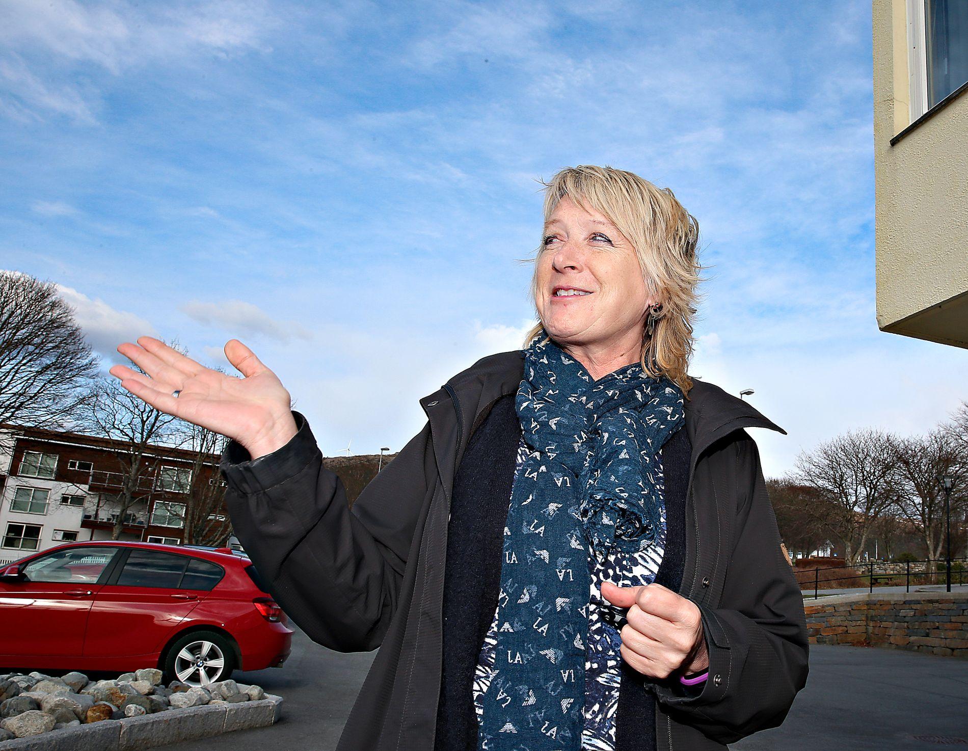 TROR PÅ ÉN KOMMUNE: Fitjar-ordfører Wenche Tislevoll tror Stord og Fitjar er slått sammen innen 10 år uavhengig av mandagens folkeavstemning. I juni skal de to kommunestyrene behandle spørsmålet om sammenslåing.