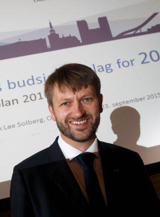I OPPOSISJON: Eirik Lae Solberg (H) var finansbyråd inntil i høst, da de rødgrønne tok over styringen av hovedstaden. Nå er han gruppeleder for Høyre i bystyret.