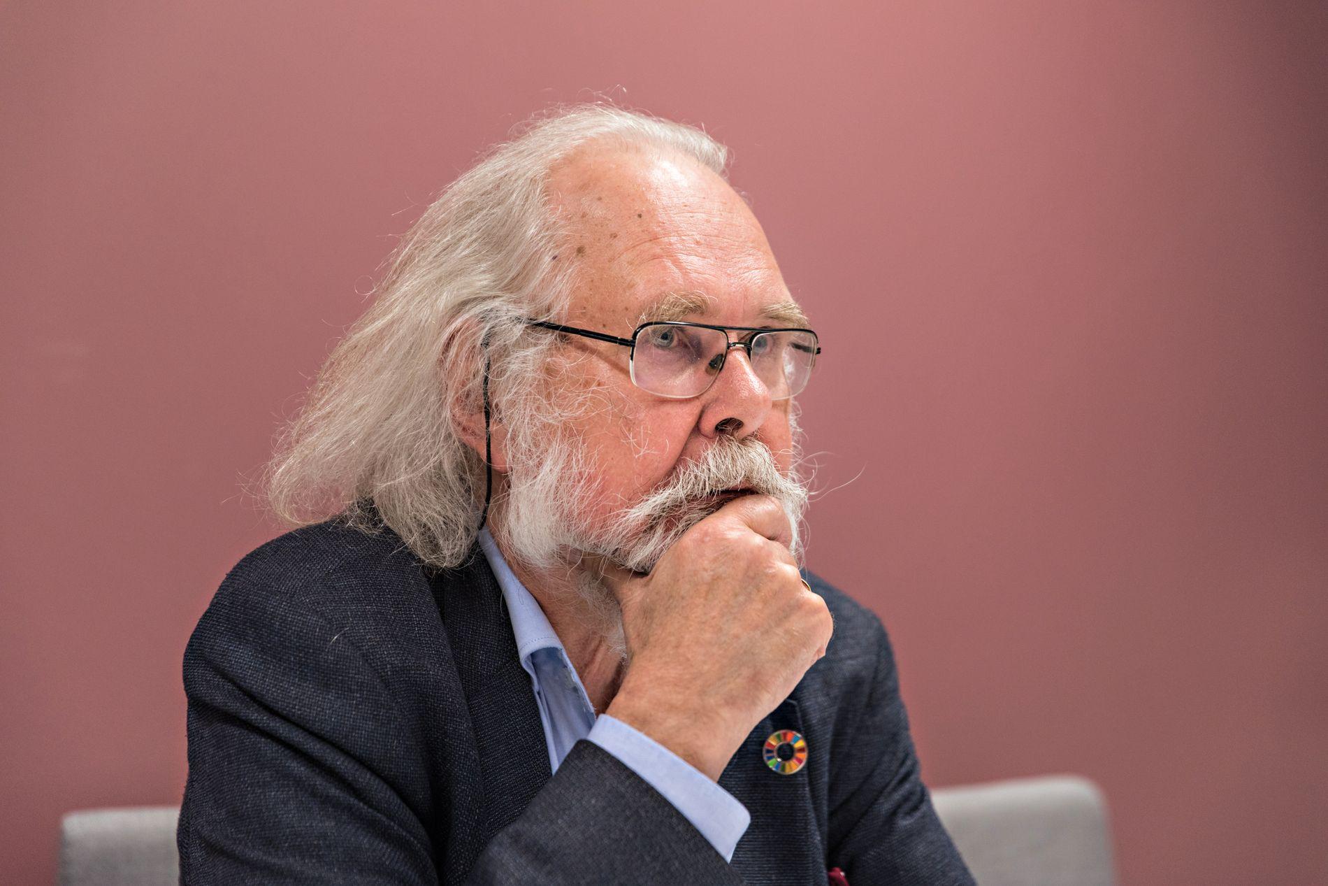 GRANSKET: Biologiprofessor Nils Christian Stenseth.