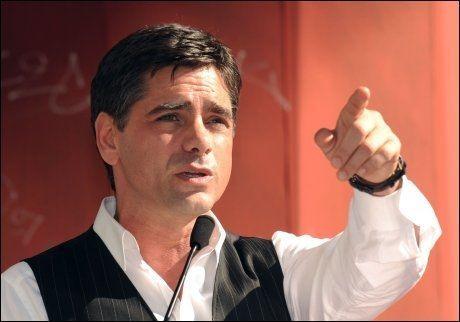 UTPRESSINGSOFFER: John Stamos (46) huskes av mange for sin rolle i den populære TV-serien «Under samme tak». Foto: AP