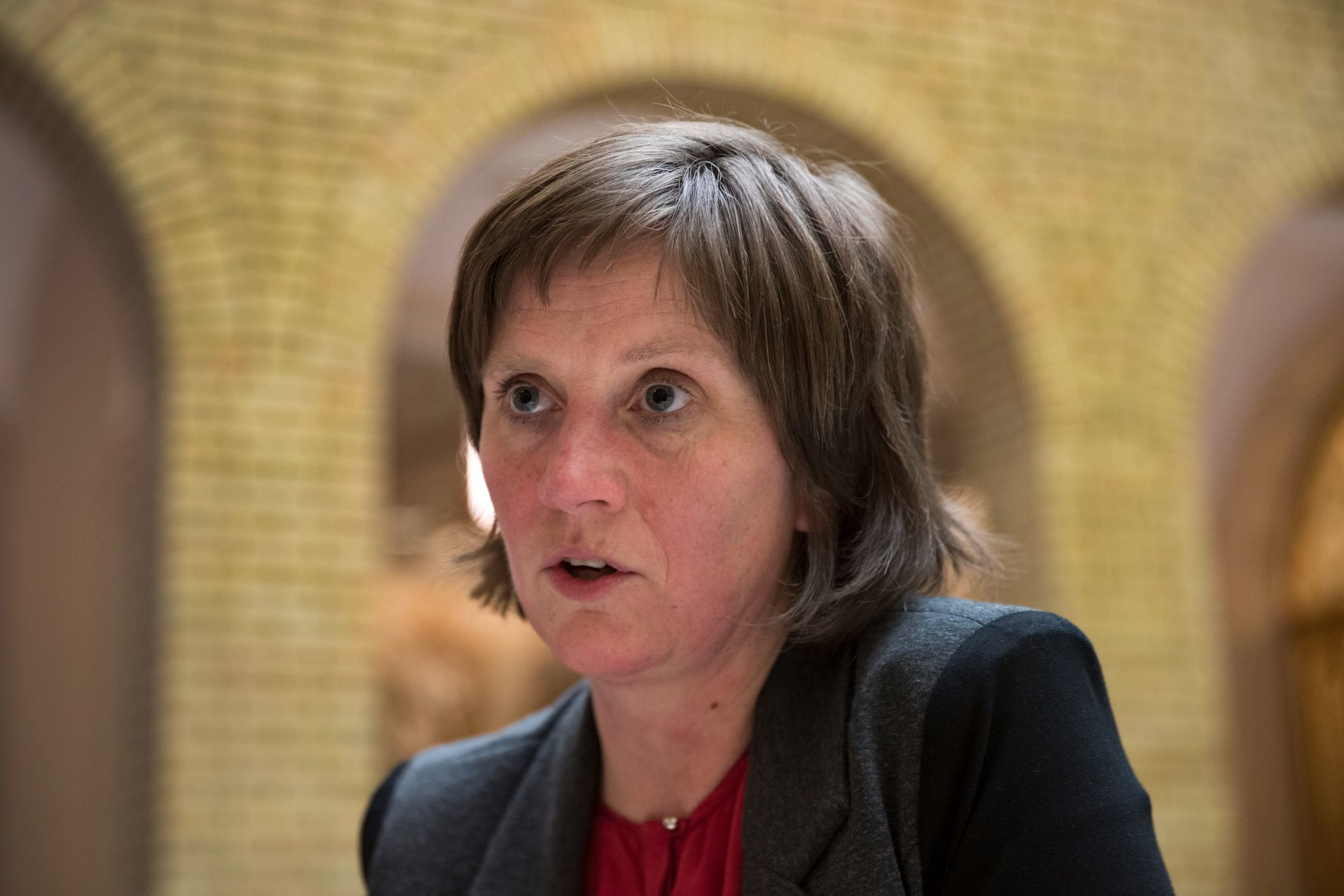 FLOTT MED FLYTTING: Kjersti Toppe (Sp) mener Kristin Halvorsen og Bioteknologirådet driver med småsutring når de motsetter seg utflytting fra Oslo.