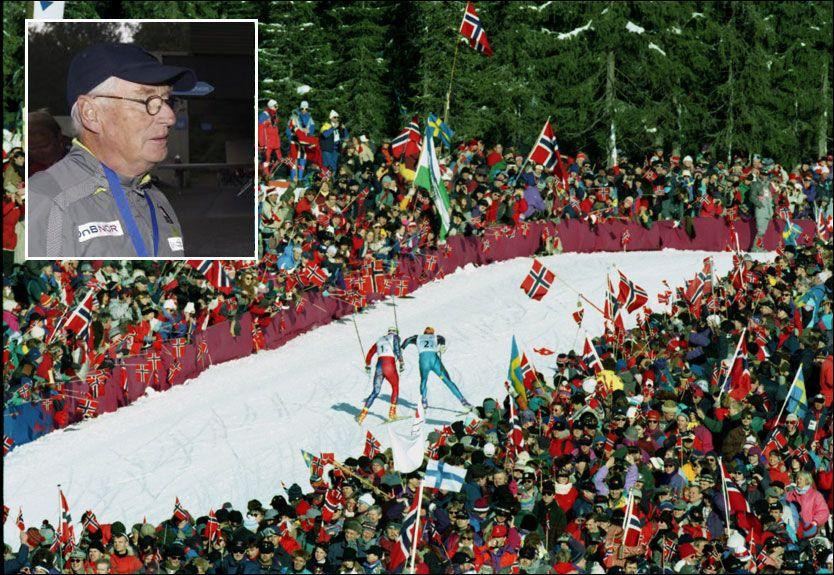 STUSSER OVER HØYE VERDIER: Idrettslege Thor-Øistein Endsjø (innfelt) er etter 40 år i bransjen ikke vant med så høye verdier som norske langrennsløpere har oppgitt. Men han roper ikke på doping. Foto: Scanpix