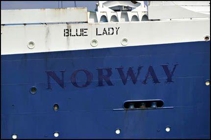 NAVNEBYTTE: For å dempe medietrykket omkring saken, byttet Star Cruises navn på skipet før det ble solgt. Foto: AFP