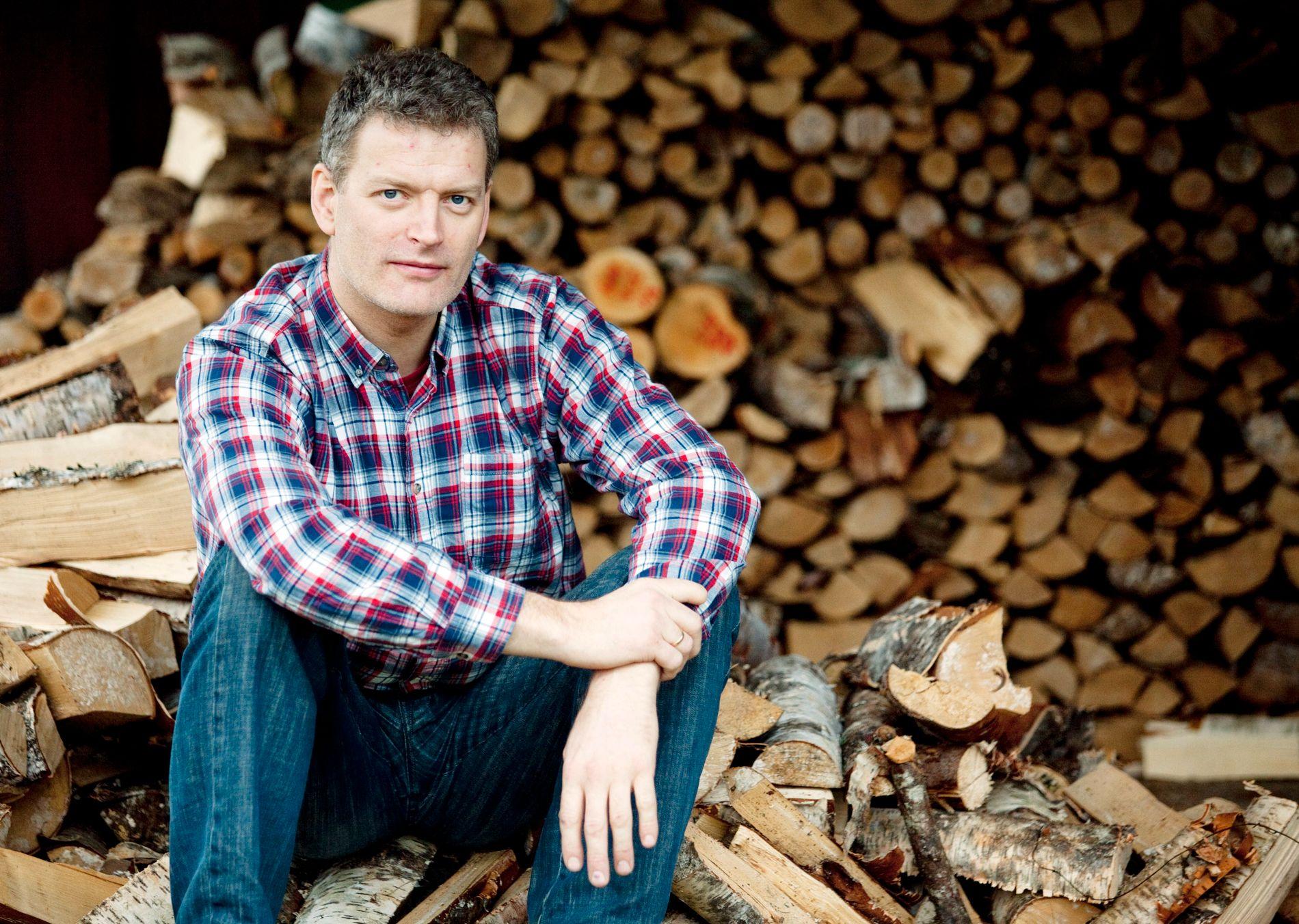VERDENS VEDMANN: Vedboka til Lars Mytting har solgt over en halv million eksemplarer internasjonalt, blitt en snakkis i Storbritannia der den har solgt over 100.000 eksemplarer, og denne uken ble «Norwegian wood» kåret til Årets sakprosabok under den prestisjefylte The British Book Industry Awards - som arrangeres av The Bookseller.