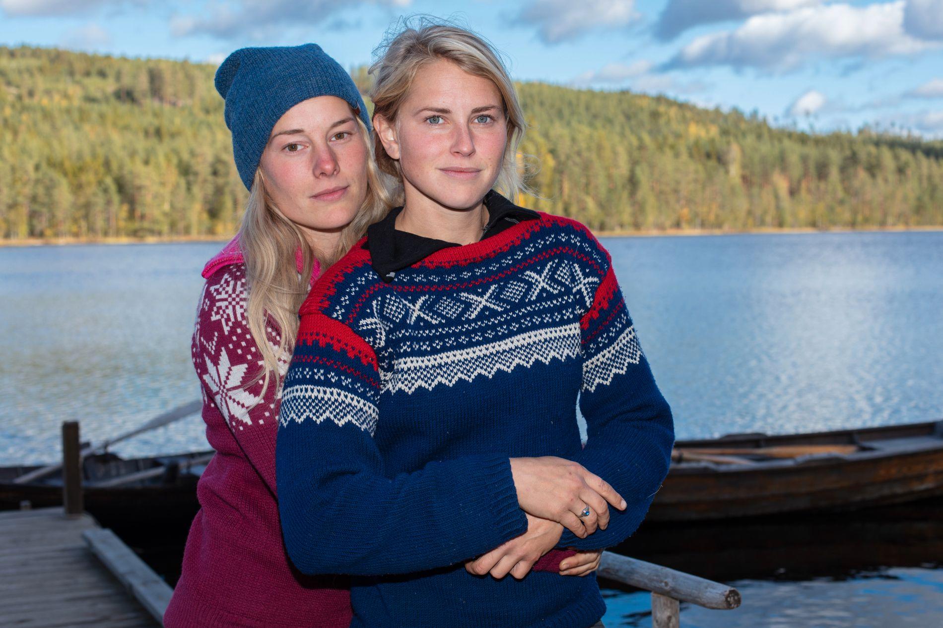 MED PÅ LAGET: Tonjes kjæreste, Lene Sleperud, forsynte seg også godt av matleveransen de fikk i uke 4.