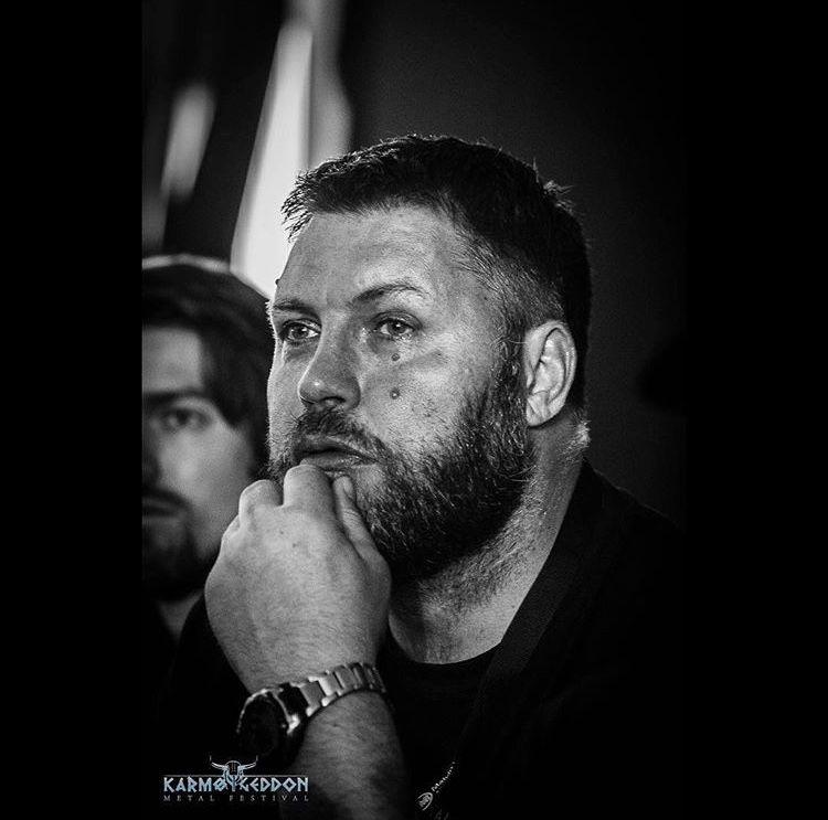 OPPGITT: Festivalsjef i Karmøygeddon Metal Festival, Johnny Angelund, sier festivalen flere ganger tidligere har blitt rammet av streik i luftfartsnæringen.