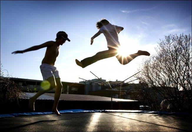 Fantastisk Sikkerhetsnett på trampoliner påbys MB-51