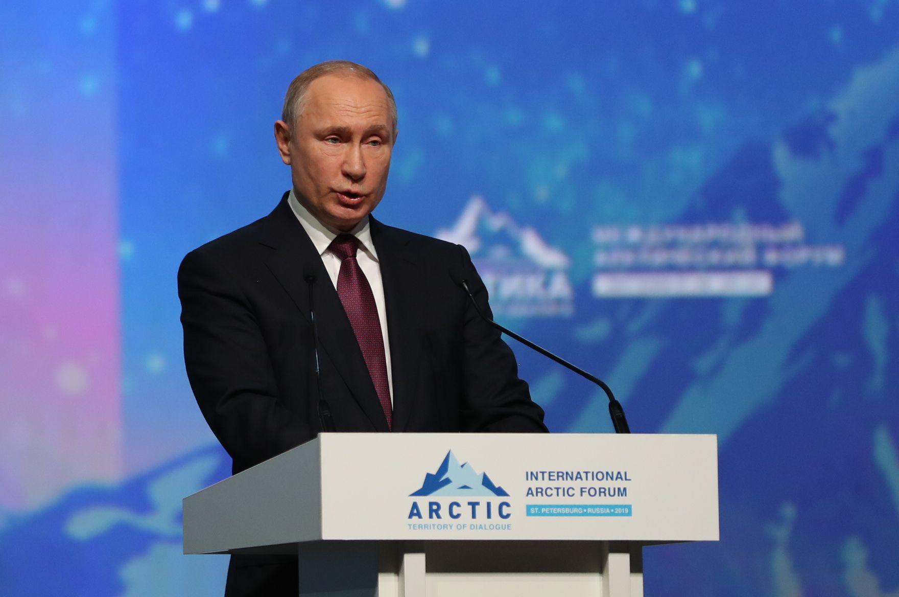 PRESIDENT: Vladimir Putin er Russlands øverste leder.