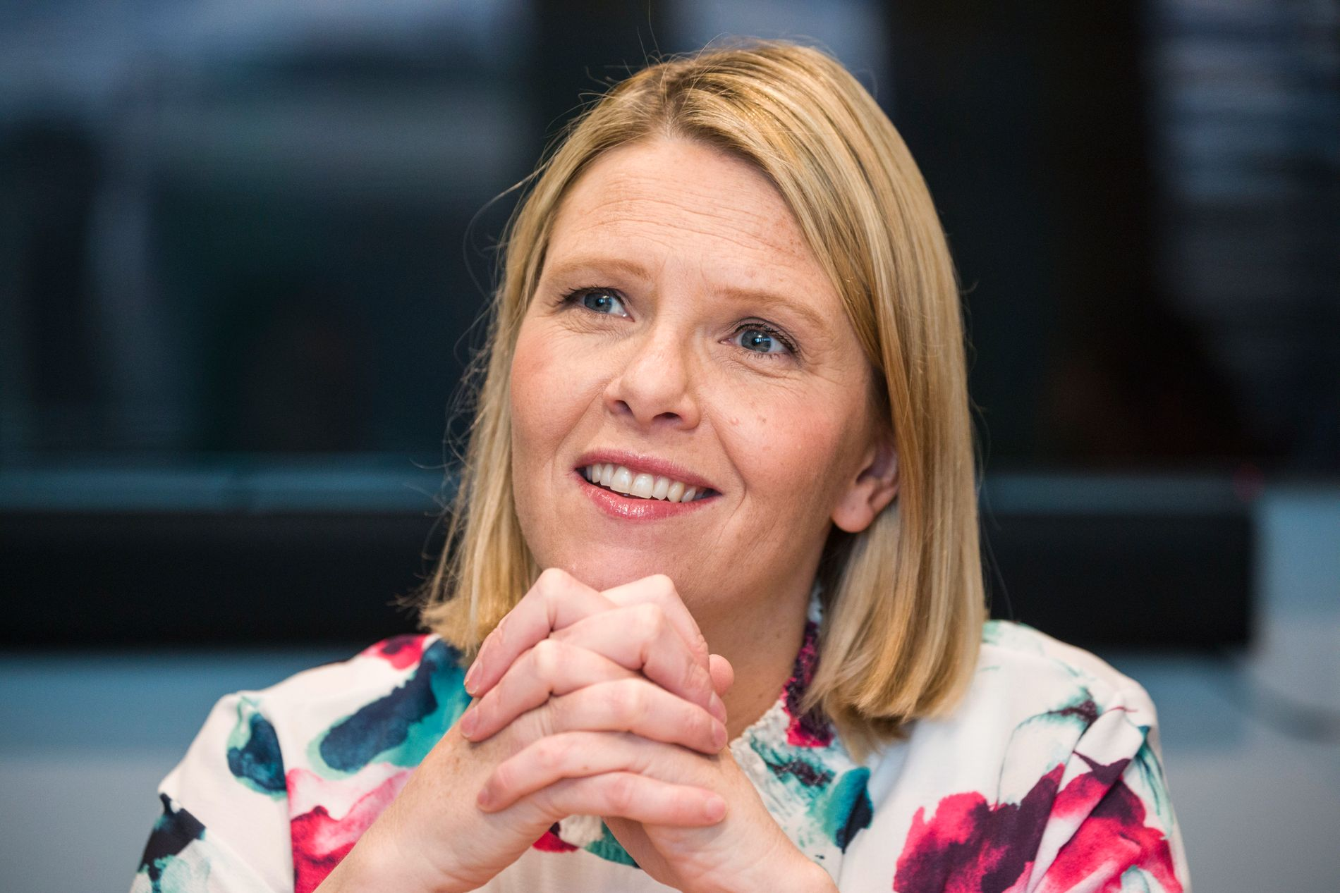 VIL UTFORDRE: Justisminister Sylvi Listhaug (Frp) vil utfordre Ap i fremmedkrigersaken.