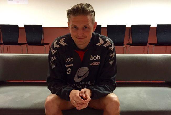 MOT BEDRE TIDER: Erik Huseklepp har ambisjoner med både Brann og Norge.
