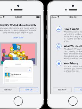 Facebook skal registrere lyden rundt deg – E24