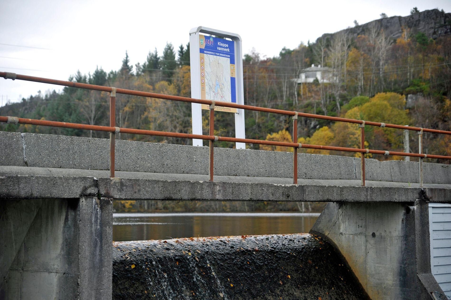 VANNVERK: Kleppe vannverk i Askøy kommune.