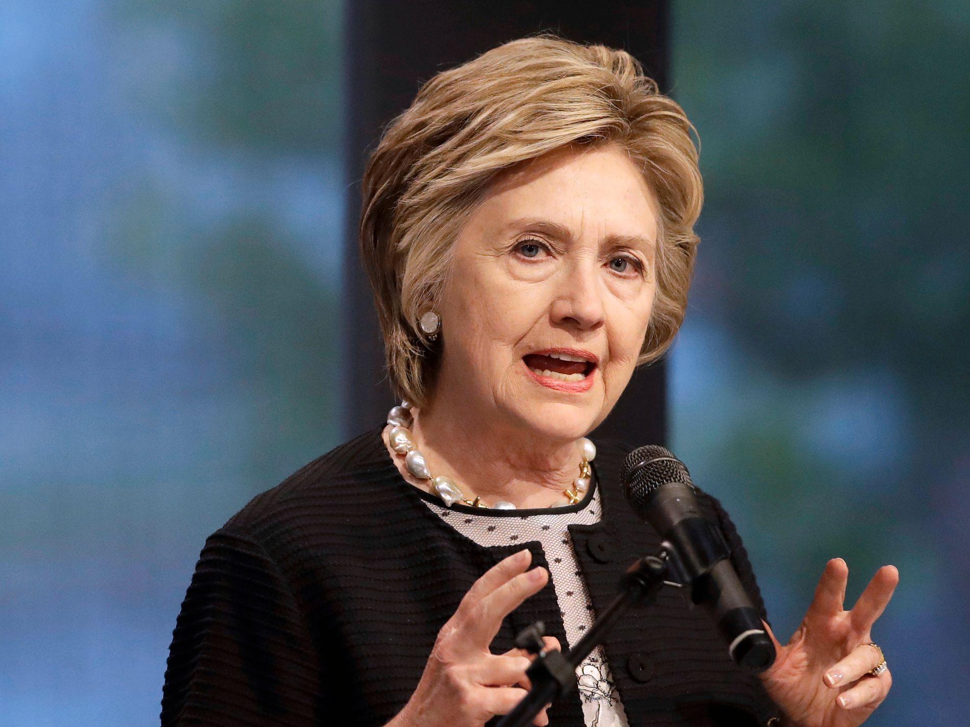 REDSKAP: I et australsk TV-intervju som ble sendt tidligere i kveld beskylder Hillary Clinton Wikileaks-gründer Julian Assange for å være et redskap for russisk etterretning og Vladimir Putin. Foto: AP