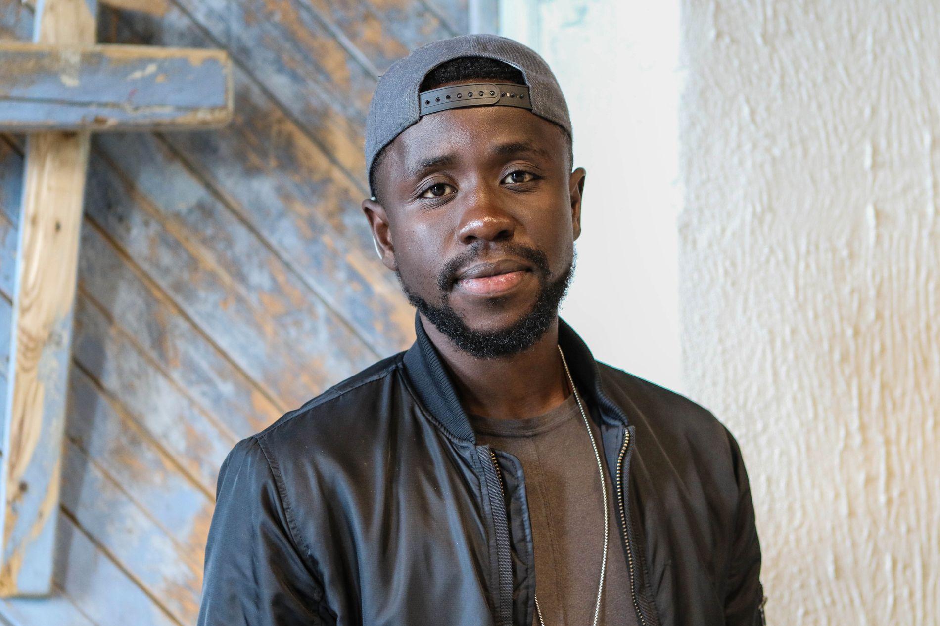 TALENT: Mugisho David Nhonzi (24) er både produsent, låtskriver og sanger. Foto: RANO AKBAR / VG