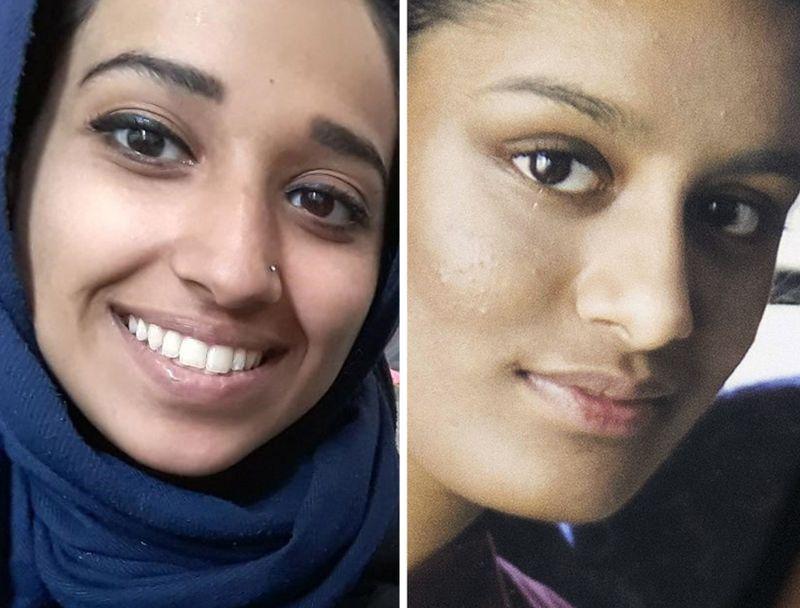 VIL HJEM: Hoda Muthana og Shamima Begum sluttet seg til IS som tenåringer, og har født barn i terrorhærens «kalifat». Nå trygler de om å få vende hjem.