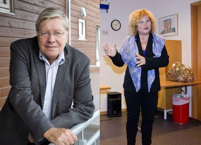 ee4945c3 SYMPATISERER: Som generalsekretær i Voksne for Barn vet Randi Talseth (til  høyre) at mange foreldre sliter med å håndtere det voksende barnets  problemer.