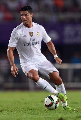 VERDENSSTJERNE PÅ OSLO BØRS: Fotballspiller Cristiano Ronaldo er en av verdens mest profilerte idrettsstjerner. Portugiseren er lagkamerat med norske Martin Ødegaard i spanske Real Madrid.