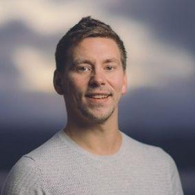 DOKUMENTERTE RASET: Tom Erik Olsen (39) så at raset kom til å komme, og