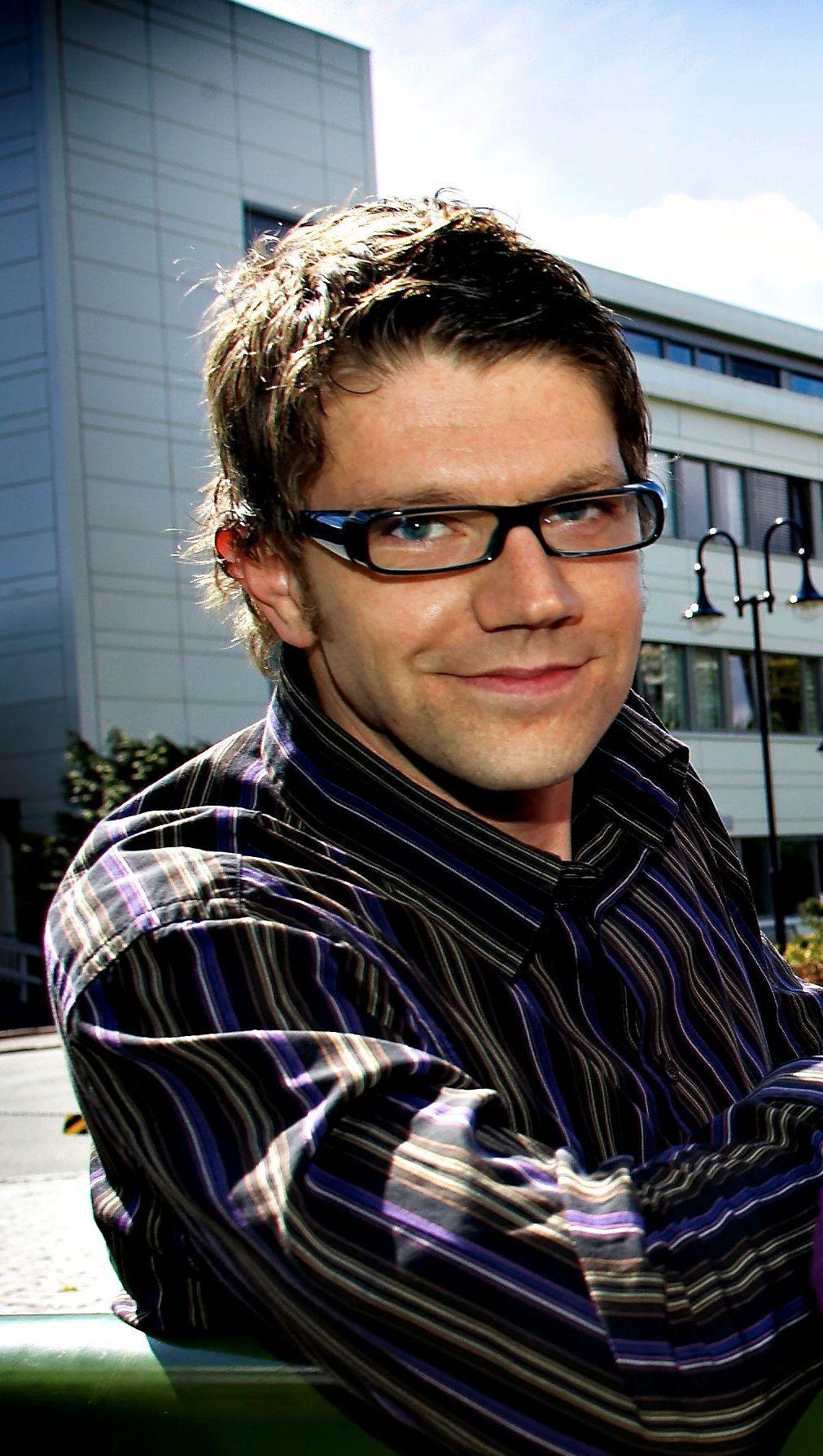 ANNONSERER: Rune Alstadsæter, kommunikasjonssjef for Høyre, sier at de bare kjøper annonser på samme måte som Arbeiderpartiet.