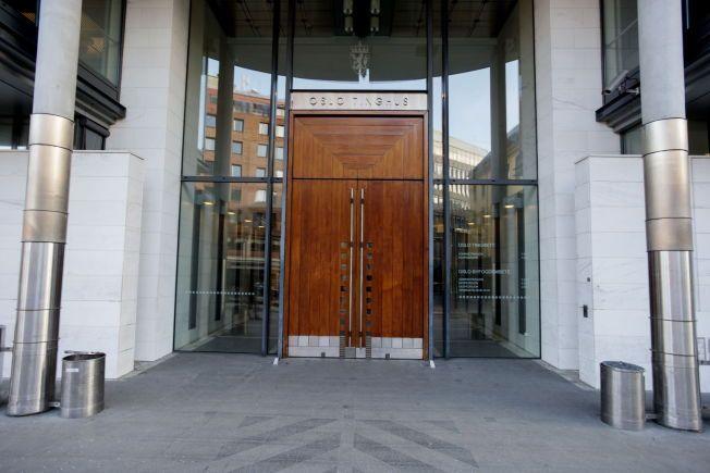LUKKET RETTSMØTE: Mannen i 40-årene ble fremstilt for varetektsfengsling i Oslo tingrett mandag ettermiddag. Forhandlingene skjedde bak lukkede dører.