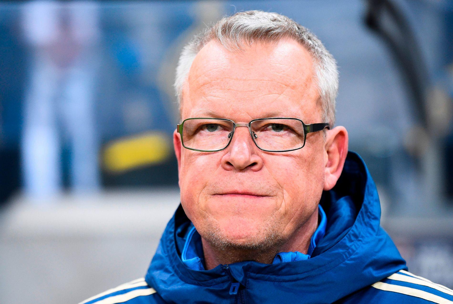 BARE DRØMMER: Landslagssjef Janne Andersson melder selv at han bare tenker på drømmer, ikke mareritt. Men svensk presse er ikke enige.