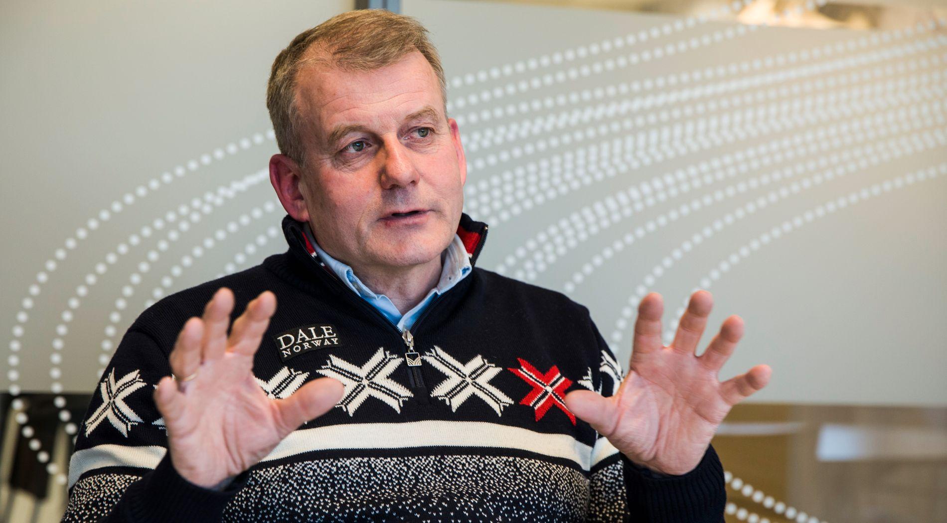 TØFF TID: Skipresident Erik Røste har vært gjennom mye den siste tiden.