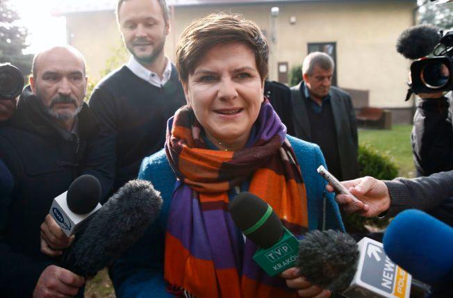 VANT: Beata Szydlo blir Polens nye statsminister etter åtte år i opposisjon.
