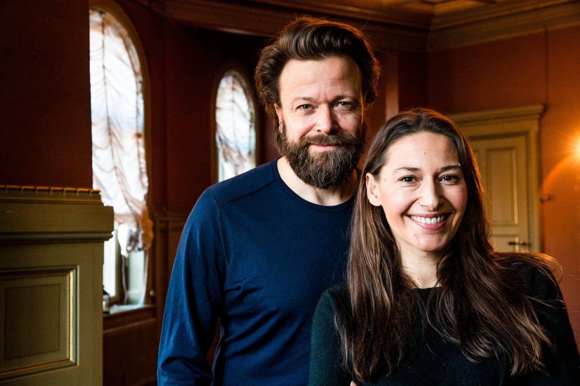 SUKSESS MED IBSEN: Kåre Conradi og Pia Tjelta opplevde stor suksess da de tok Henrik Ibsens «Fruen fra havet» til London.