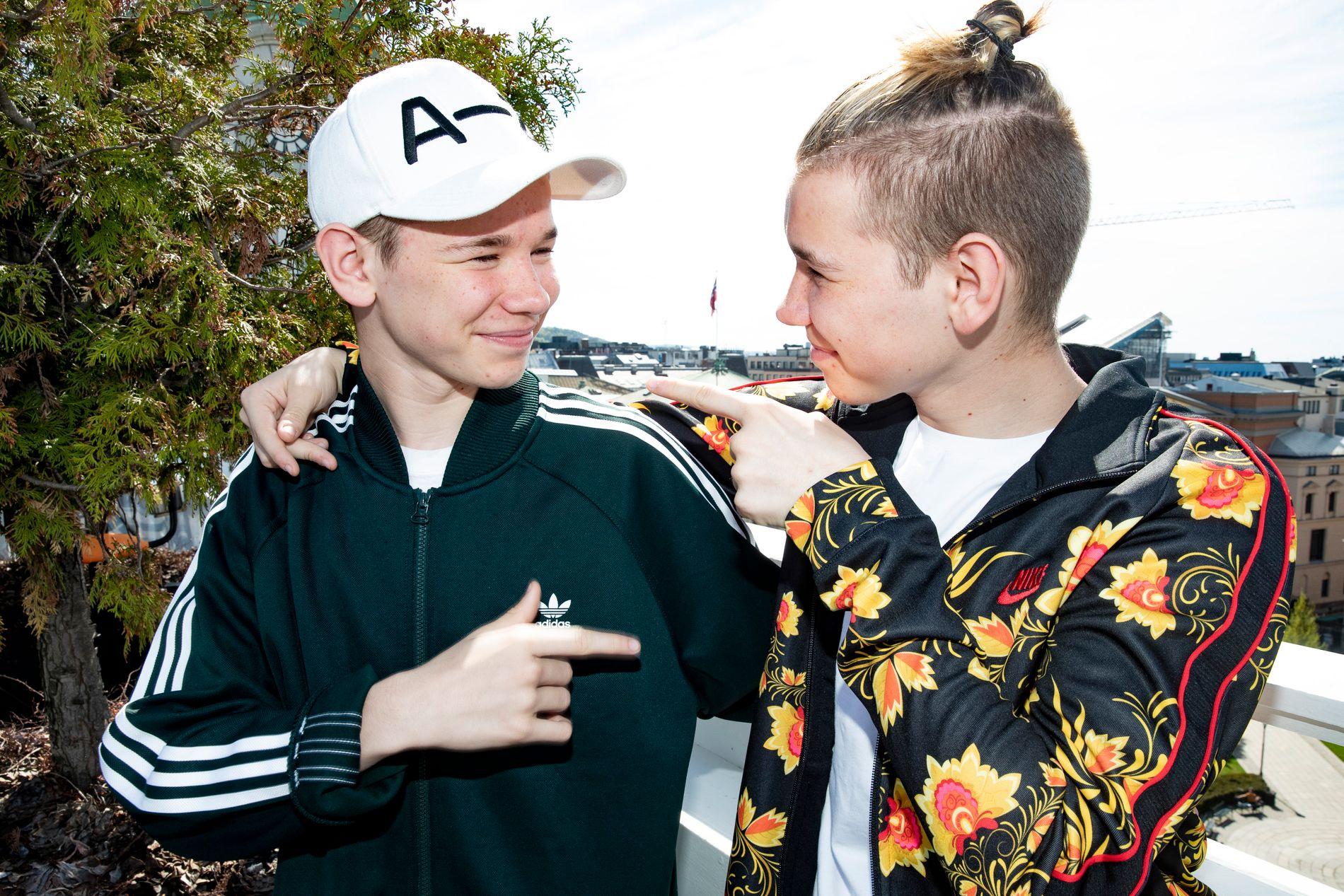 SUPER-TVILLINGER: Marcus og Martinus Gunnarsen er snart ferdig med sin første Europa-turné.
