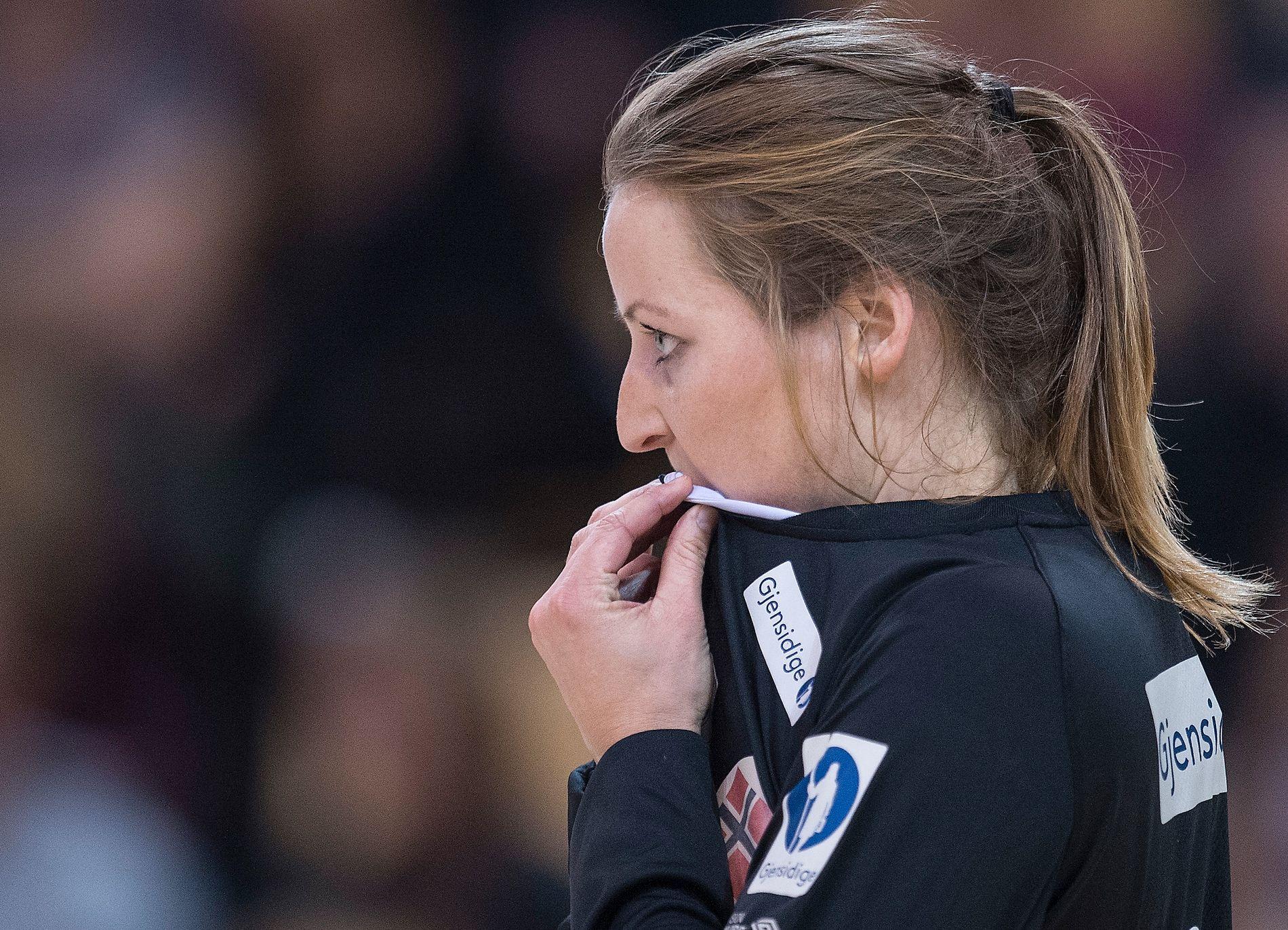 KOM TIL KORT: Silje Solberg uttrykker støtte til de OL-uttatte keeperne, men er på egne vegne veldig skuffet.