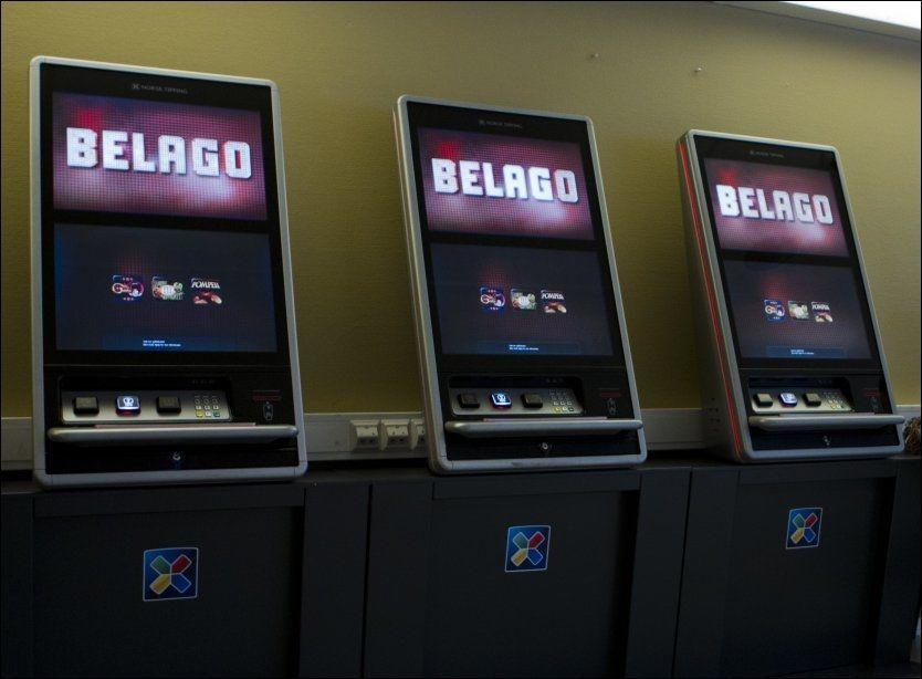 STRIDENS KJERNE: Bingoautomaten «Belago» er utplassert 138 steder i Norge, ifølge en oversikt på Norsk Tippings hjemmesider. Her på Quickbingo på Hauketo senter i Oslo. Foto: Berit Roald, NTB Scanpix