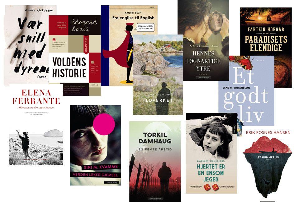 DETTE PUTTER DU I GAVESEKKEN: Flere tusen boktitler blir utgitt i Norge hvert år. Her er et lite knippe håndplukket av forfatterne selv.