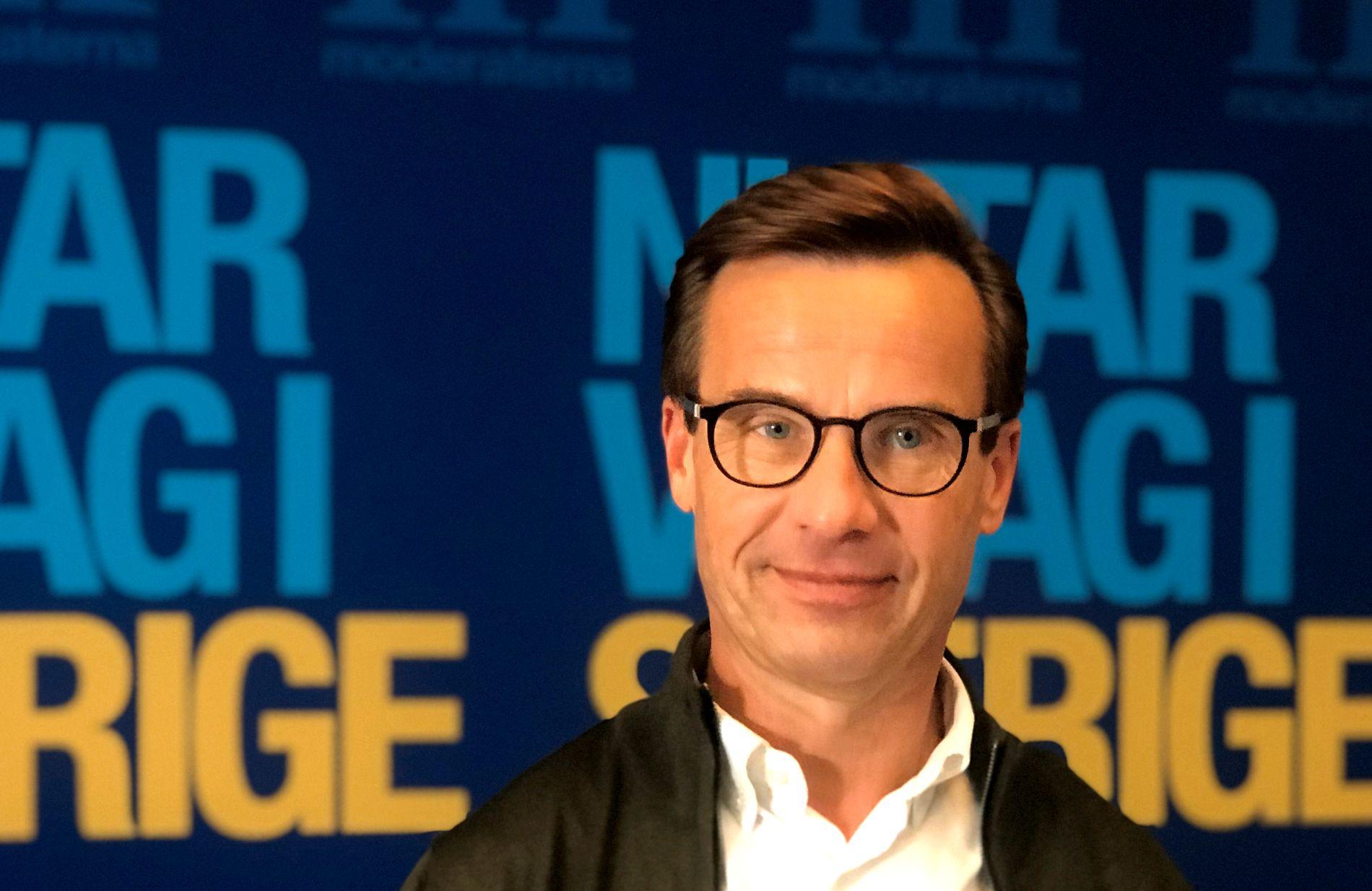 STATSMINISTERKANDIDAT: Moderaternas leder Ulf Kristersson er statsministerkandidat for den borgerlige blokken Alliansen.