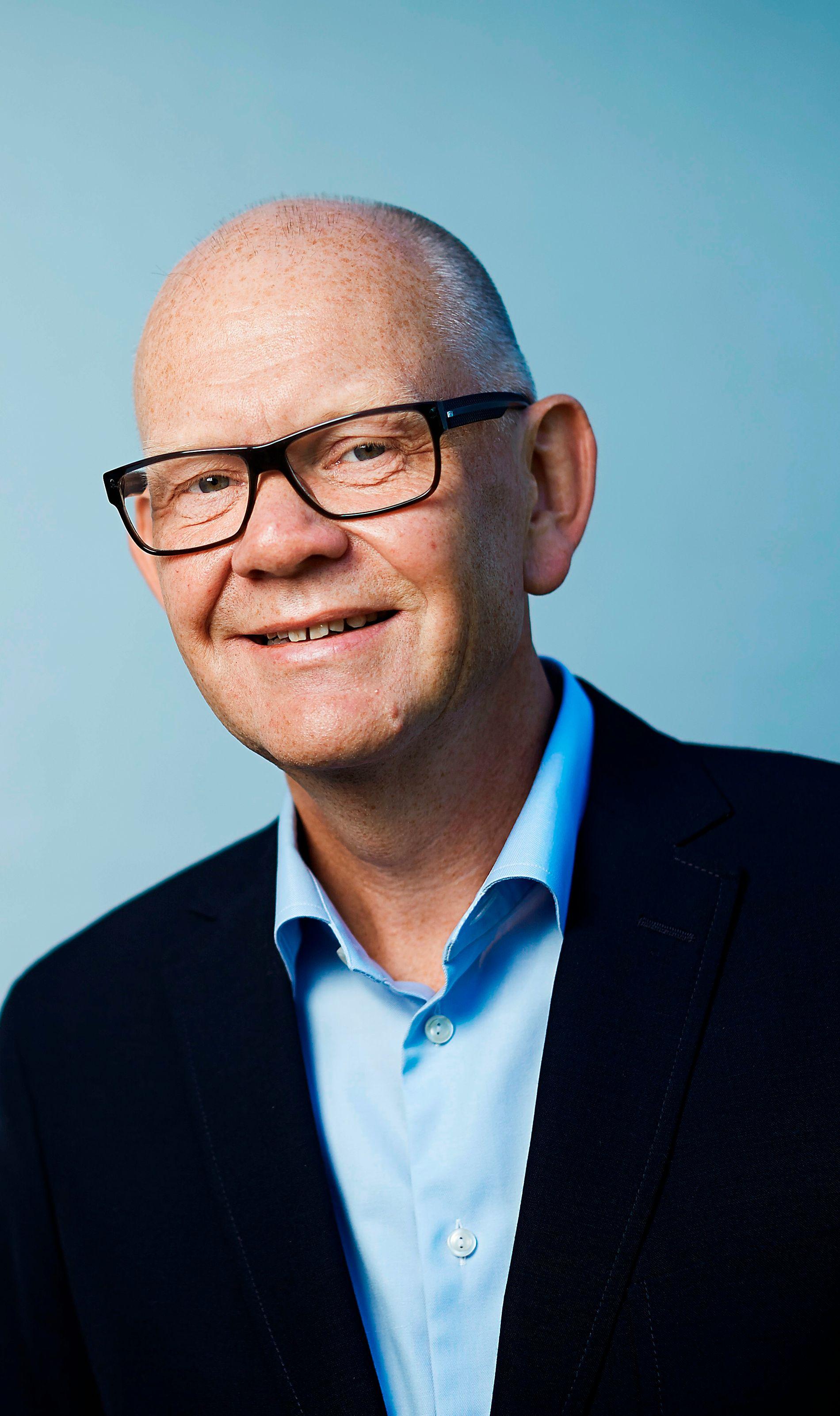 Kommunikasjonsdirektør Dag Olav Stokken i Orkla Foods Norge frykter nå at de må kaste 500.000 bokser Nugatti-pålegg om de ikke får gjennomslag for klagen de har sendt til Mattilsynets hovedkontor. Foto: ORKLA