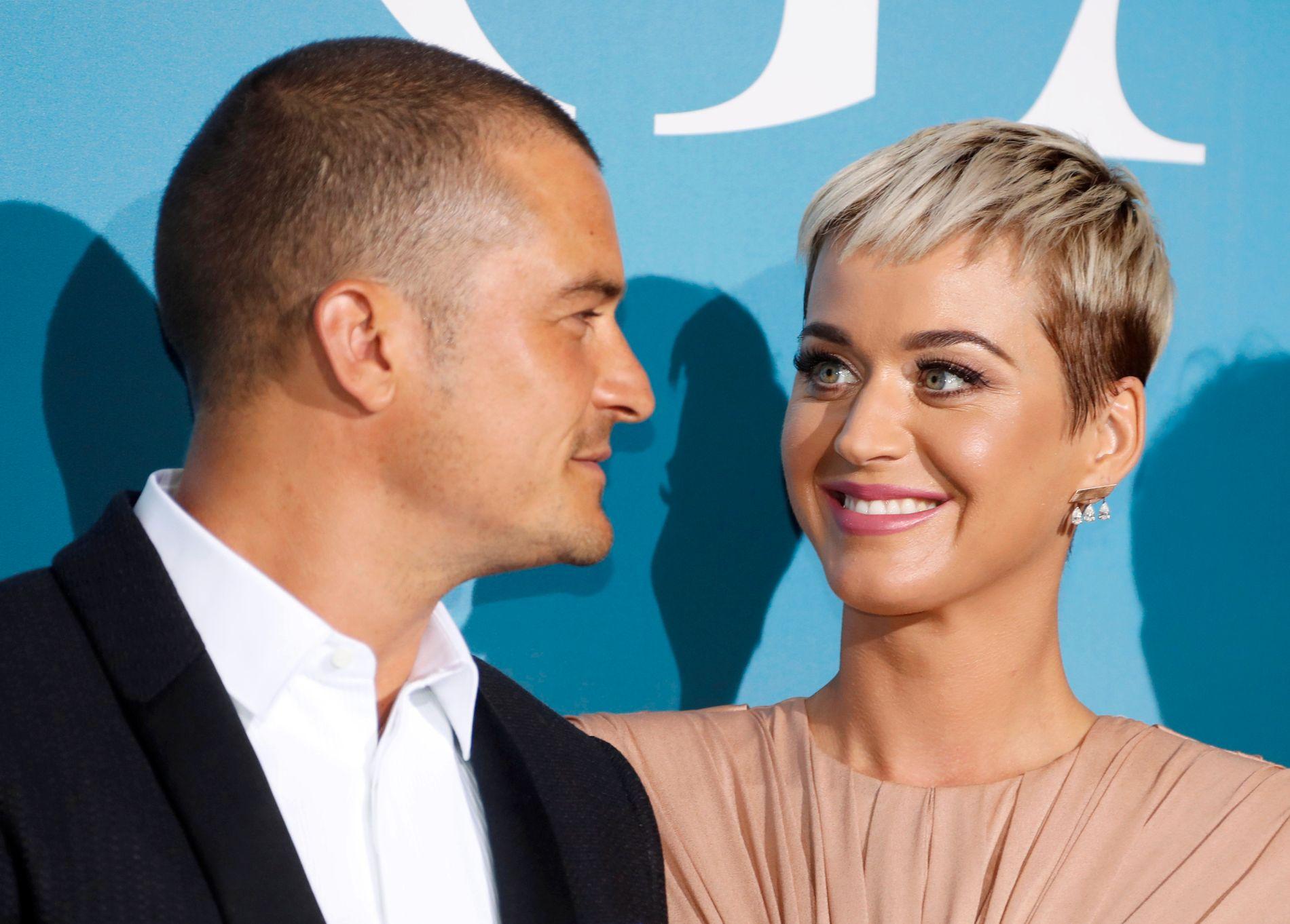 GIFTER SEG: Orlando Bloom og Katy Perry.