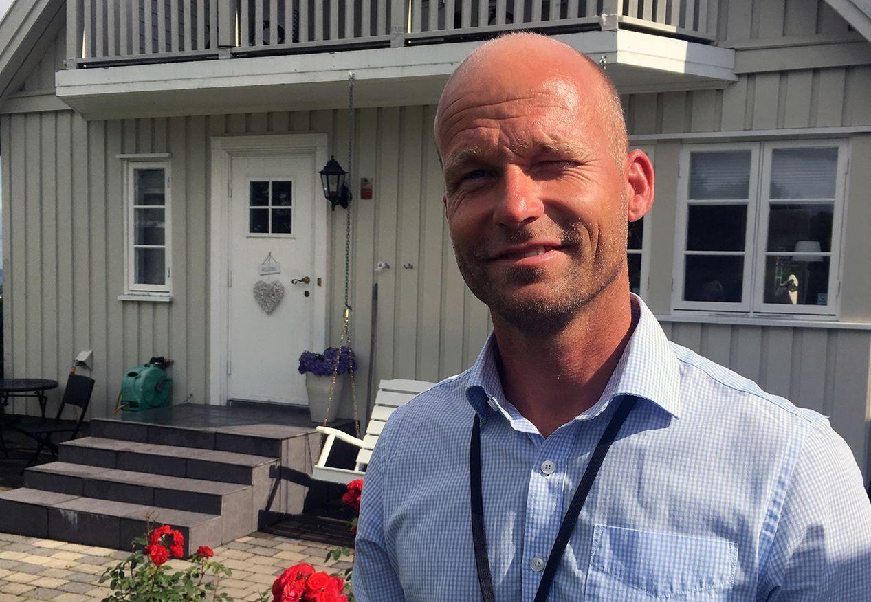 ØKT VERDI: Etter at Espen Bauer-Hansen fornyet taket sitt, fikk han en langt høyere verditakst på huset sitt.