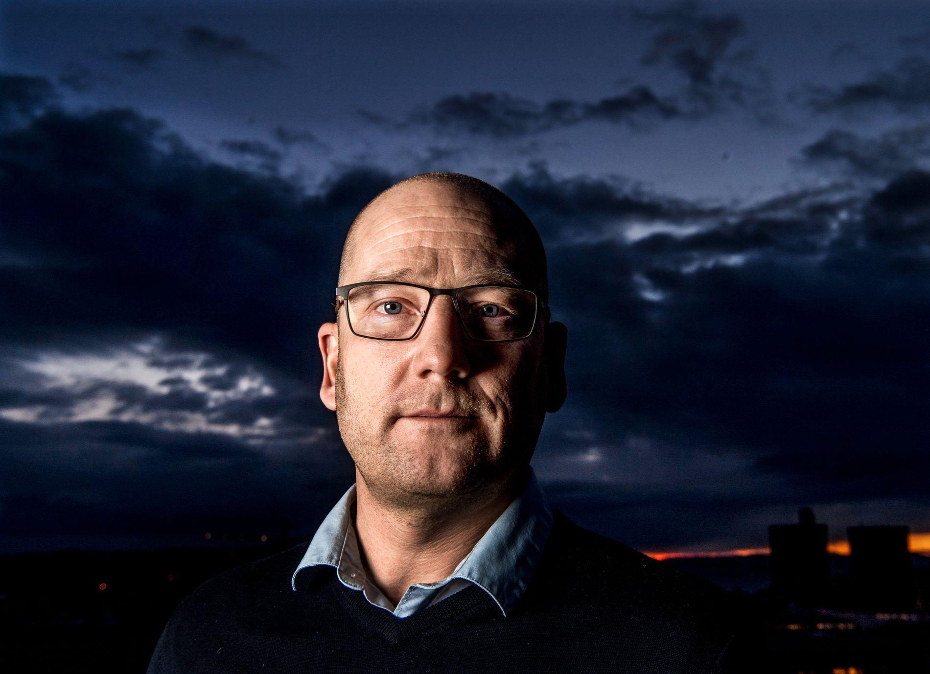 BRUKER KRISE-ORDET: Steffen Handal er leder i Utdanningsforbundet, som organiserer de fleste lærerne i norske skoler.