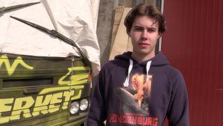 Marcus Tønnessen er en av guttene på russebussen «Hindenburg 2020».