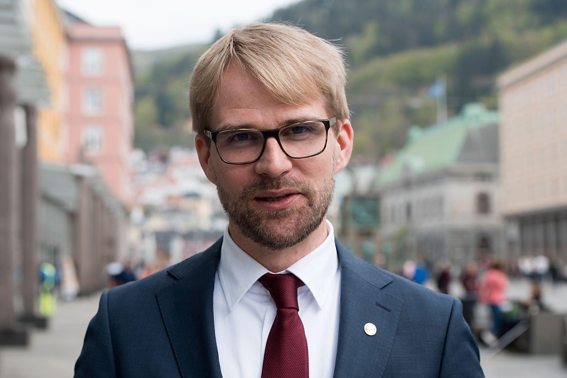 BYRÅDSLEDER: Roger Valhammer i Bergen.