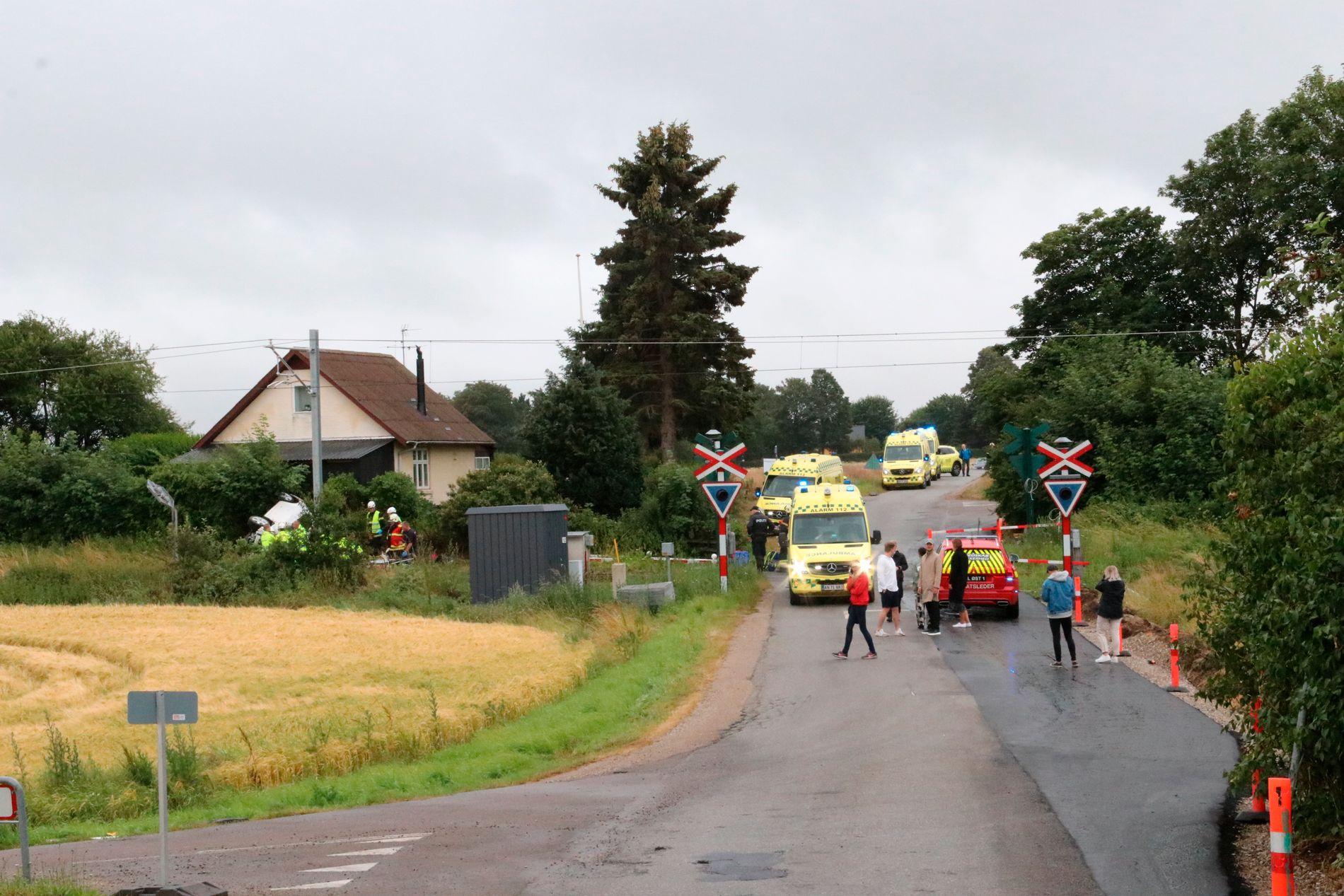 ULYKKESSTEDET: Her mistet en norsk mann og hans sønn livet lørdag. En kvinne og ei ung jente overlevde ulykken og er på sykehus.