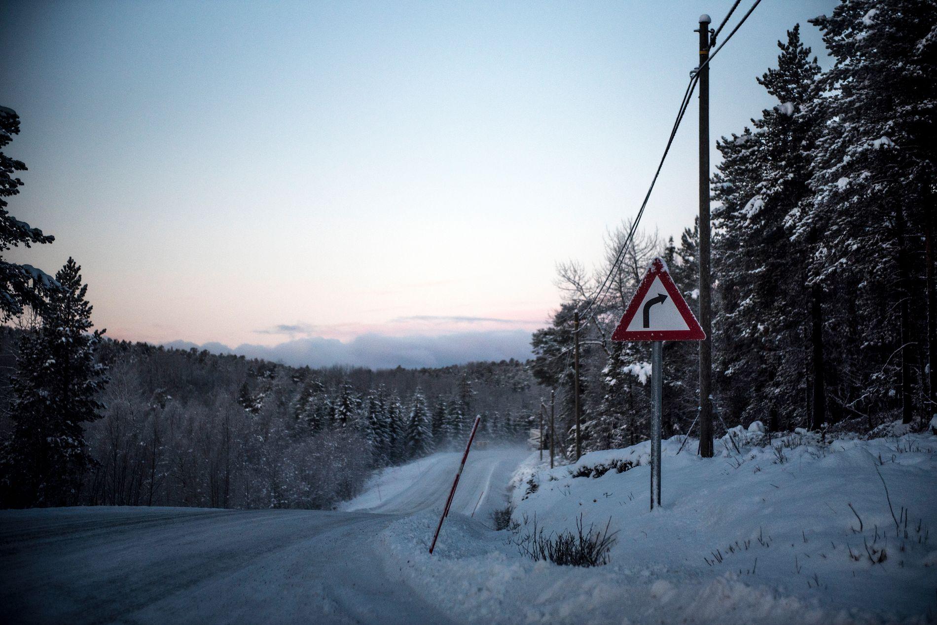 MYE NEDBØR: Natt til andre juledag kan det komme mye nedbør sør for Oslo. Her fra Hamarøy i november.