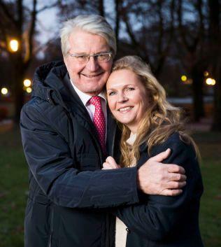 GLEDER SEG: Fabian Stang og Catharina Munthe gleder seg til å bli fosterforeldre til en syv år gammel jente.