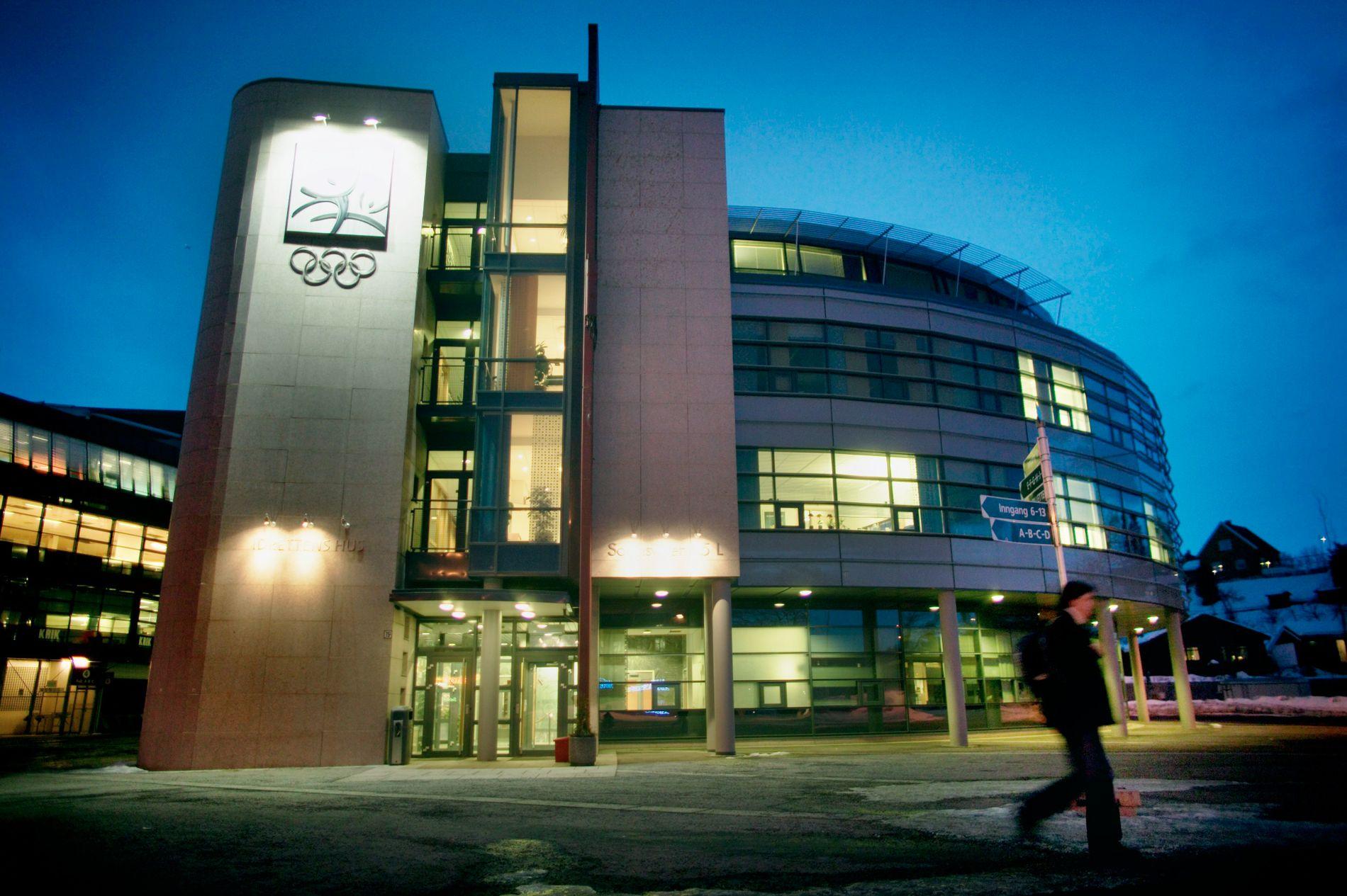 Idrettens Hus på Ullevål stadion i Oslo. Her på et bilde fra 2005.