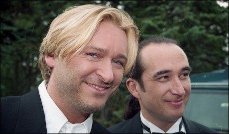 ERFARNE: Da Jørn Hoel giftet seg i 1994 var bestevennen Steinar ALbrigtsen forlover. Her fra bryllupsdagen i august for 19 år siden. Foto: MAGNAR KIRKNES