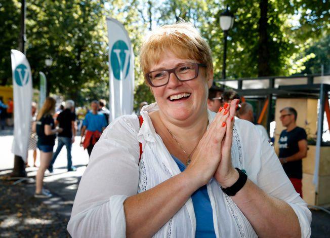 SYMBOLSAK: Spørsmålet om homofilt ekteskap er blitt en viktig symbolsak, og er noe av grunnen til at partileder Trine Skei Grande i Venstre støtter oppropet for Åpen folkekirke.