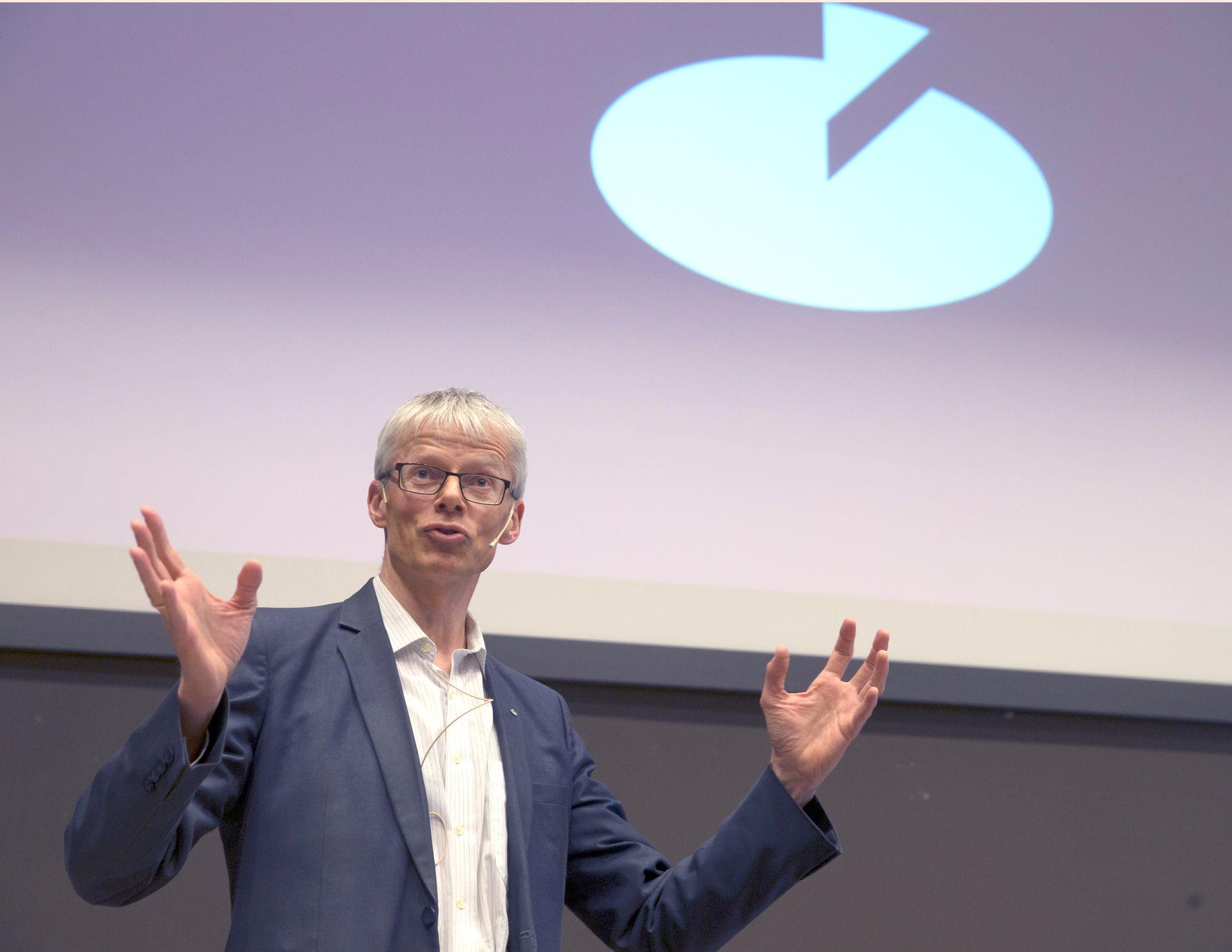 MISTENKER FEILRAPPORTERING: Skattedirektør Hans Christian Holte.