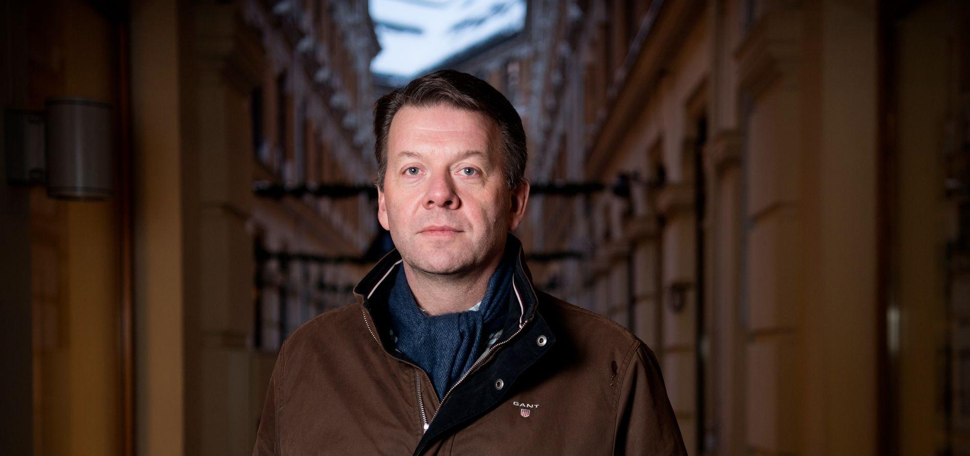 VARSLET: Terje Andreassen varslet politiet om bedriftseieren i 1999, men saken mot mannen ble henlagt noen måneder senere.